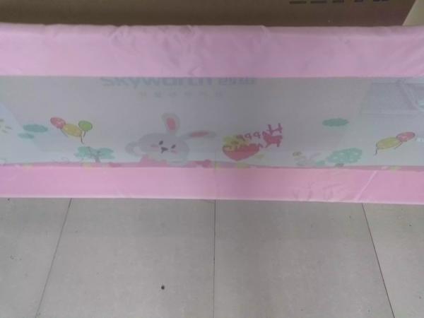儿童床护栏二维码