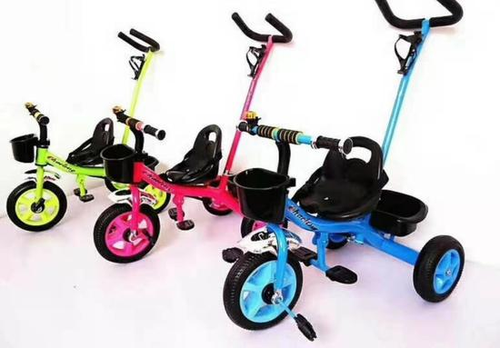 二合一儿童三轮车二维码