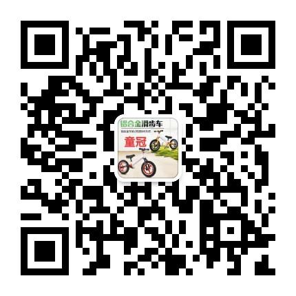 河北童冠车业,主营平衡车,电动车二维码