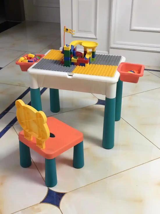 赫童。主要生产平衡车 多功能积木桌二维码