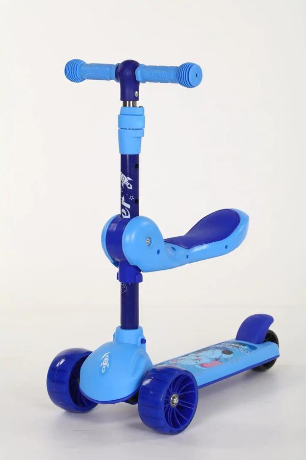 米高滑板车,溜娃推车二维码